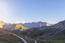 Itália, Piemont, Alpes Ocidentais, Vista de Colle Basset, Colle dell 'Assietta, Alpes Cottian — Fotografia de Stock