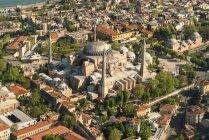 Туреччина, Стамбул, вид на мечеть Святої Софії — стокове фото