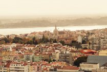 Portugal, Lisbon, view to the city from above — Foto stock