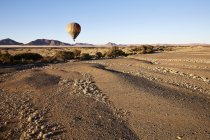Africa, Namibia, Namib-Naukluft National Park, Sossusvlei, Kulala Wilderness Reserve, air balloon — Stock Photo
