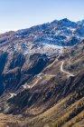 Svizzera, Vallese, Alpi, vista del Passo Grimsel — Foto stock