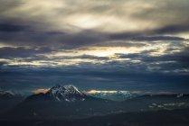 Austria, Salzburgo, Hochstaufen visto desde Gaisberg - foto de stock