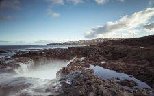 Spagna, Isole Canarie, Gran Canaria, La Garita, El Bufadero formazione geologica — Foto stock
