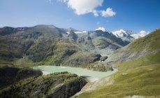 Autriche, Carinthie, Grossglockner, Margaritze reservoire — Photo de stock