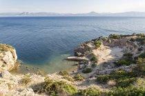 Grecia, Golfo di Corinto, Loutraki, Heraion di Perachora, antico sito di scavo — Foto stock
