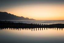 Espagne, Îles Canaries, Gran Canaria, Puerto de las Nieves, Las Salinas de Agaete piscine naturelle — Photo de stock