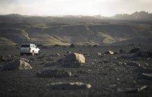 Iceland, Skoga, off-road vehicle — Photo de stock