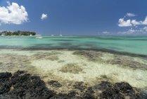 Mauritius, Cap Malheureux, Bain Boeuf Public Beach — Stockfoto