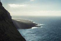 Spanien, Kanarische Inseln, Teneriffa, Punta de Teno, Luftaufnahme der Küste — Stockfoto