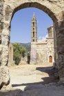 Grécia, Peloponeso, Messênia, Kardamyli, Igreja de Ag. Espírita — Fotografia de Stock