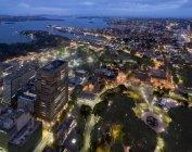 Australia, New South Wales, Sydney, cityscape at night — Stock Photo