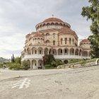 Greece, Aegina, church of Agios Nektarios — Stock Photo