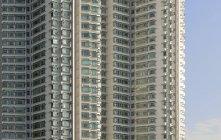 China, Hong Kong, Lantau Island, high-rise residential building — Stock Photo