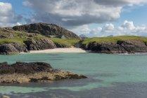 Regno Unito, Scozia, Sutherland, Assynt, Clachtoll, Beach at Bay Clachtoll — Foto stock