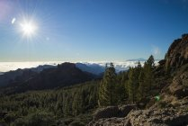 Spain, Canary Islands, Gran Canaria, view from Roque Nublo — Stock Photo
