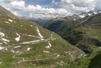 Австрия, Каринтия, национальный парк Хай-Ти, дорога Хай-Ти — стоковое фото