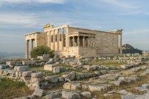 Греція, Афіни, Акрополь, Парфенон в денний час — стокове фото