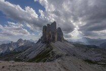 Italia, Dolomiti Sexten, Tre Cime di Lavaredo, Parco Naturale Tre Cime — Foto stock