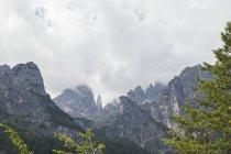 Itália, Trentino, Brenta Dolomites, Parco Naturale Adamello Brenta, Campanile Basso — Fotografia de Stock