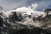 Австрия, Каринтия, Национальный парк Высокий Тауэрн, ледник Пастерце и пик Йоханнисберг — стоковое фото