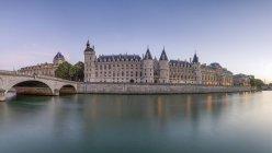 Франція, Париж, Palais De La процитувати, Консьержері — стокове фото