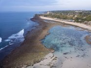 Indonesia, Bali, Aerial view of Balangan beach — Stock Photo