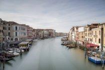 Italia, Venezia, paesaggio urbano con Canal Grande — Foto stock