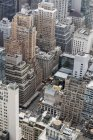 USA, New York, Manhattan, vista dalla piattaforma di osservazione Top of the Rock — Foto stock