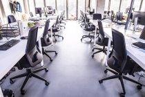 Modern open-plan office — Stock Photo