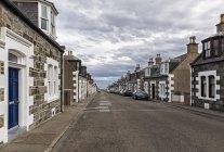 Regno Unito, Scozia, Inverness, Moray, Portknockie, townscape — Foto stock