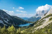 Австрия, Тироль, озеро Зеефельд — стоковое фото