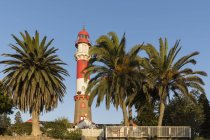 Африка, Намібія, Свакопмунд, маяк Свакопмунд — стокове фото