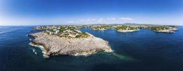 Spagna, Isole Baleari, Maiorca, Costa di Cala d'or e baia Cala Ferrera — Foto stock