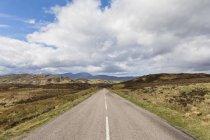 UK, Scotland, Scottish Highlands, road A838 through the Highland — Stock Photo