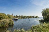Germany, Brandenburg, Werder, southern part of Havel between Werder and Werder Island — Stock Photo