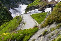 Suisse, Tessin, Tremola, Col du Gothard — Photo de stock