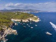 Spagna, Maiorca, Calvi, Veduta aerea della baia Cala Falco e Cala Bella Donna — Foto stock