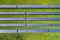Deutschland, Baden-Württemberg, Solaranlage — Stockfoto