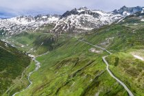 Switzerland, Canton of Uri, Urseren Valley, Furka pass — стоковое фото