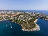 Spagna, Isole Baleari, Maiorca, Regione Cala d'Or, Costa di Porto Petro — Foto stock