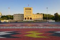 Albania, Tirana, Mother Teresa Square and University — Stock Photo