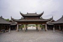 Chine, Province du Sichuan, Sculptures rupestres de Dazu — Photo de stock