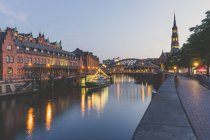 Germania, Amburgo, Zollkanal, Elbe Philharmonic Hall e — Foto stock