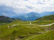 Австрия, Хохе Тауэрн, Гроссглокнер Хай Альпийская дорога, Гроссглокнер — стоковое фото