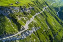 Switzerland, Canton of Uri, Glarus Alps, Schaechental, Klausen Pass — Stock Photo