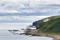 Велика Британія, Шотландія, Каабінесс, замок Дунбекат — стокове фото