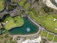 Indonesia, Bali, campo da golf sulla spiaggia di Payung — Foto stock