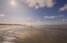 Deutschland, niedersachsen, ostfriesische insel, juist, strandlandschaft — Stockfoto