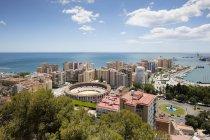 Испания, Andalusia, Malaga, bullring La Malagueta — стоковое фото