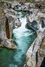Suiza, Ticino, Valle de Verzasca - foto de stock